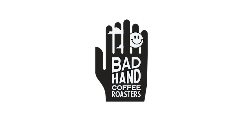 Bad Hand Coffee Roasters design by Fried Cactus