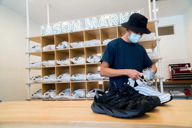 Jason Markk cleaning sneakers