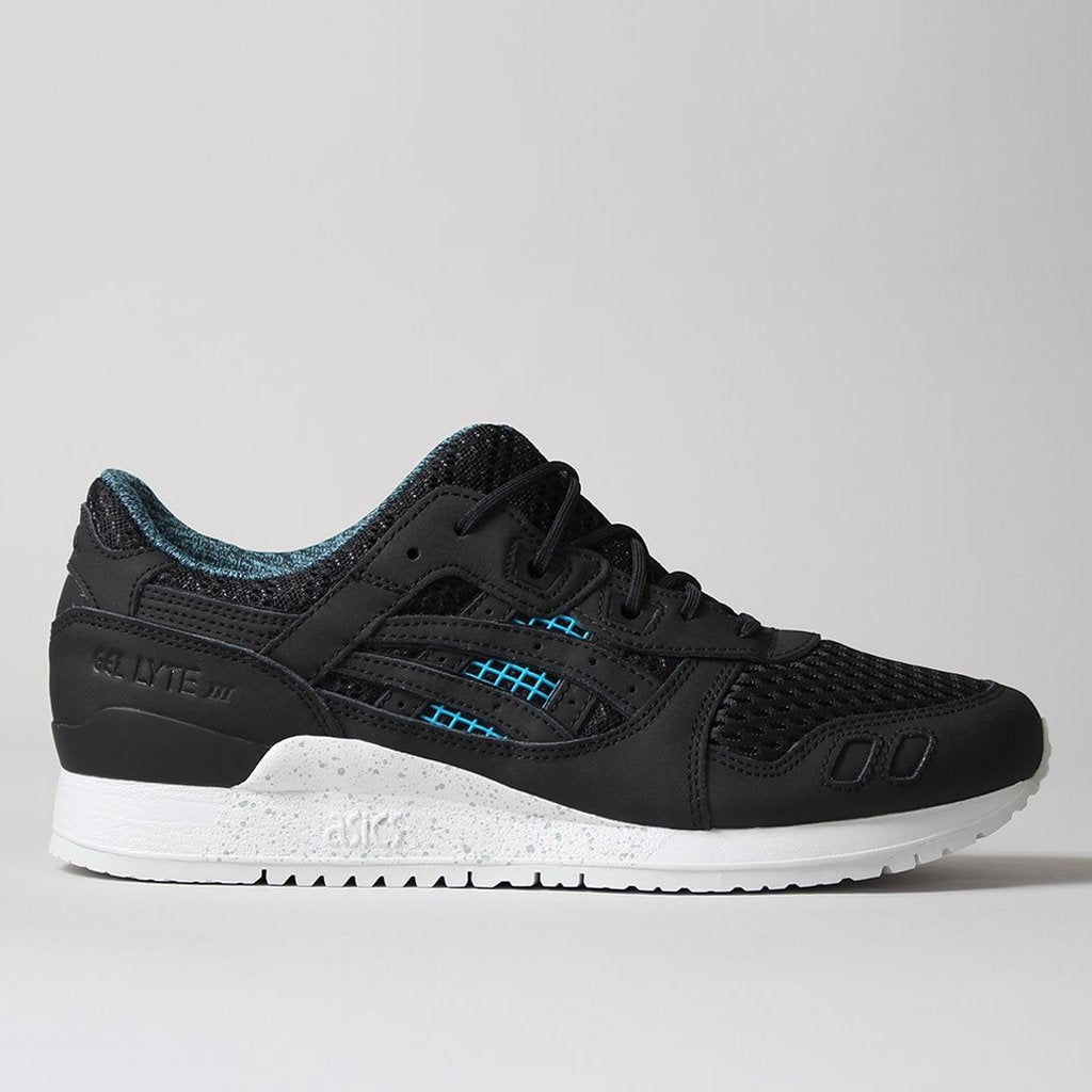 "Asics Gel Lyte III - Black/Black ""30 Years of GEL"" Pack at Urban Industry"