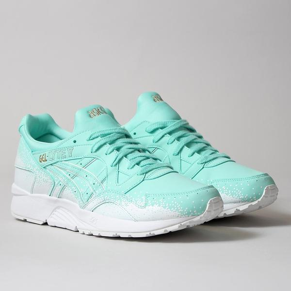 "Asics Gel Lyte V Shoes - Light Mint/Light Mint - ""Snowflake"" Pack at Urban Industry"