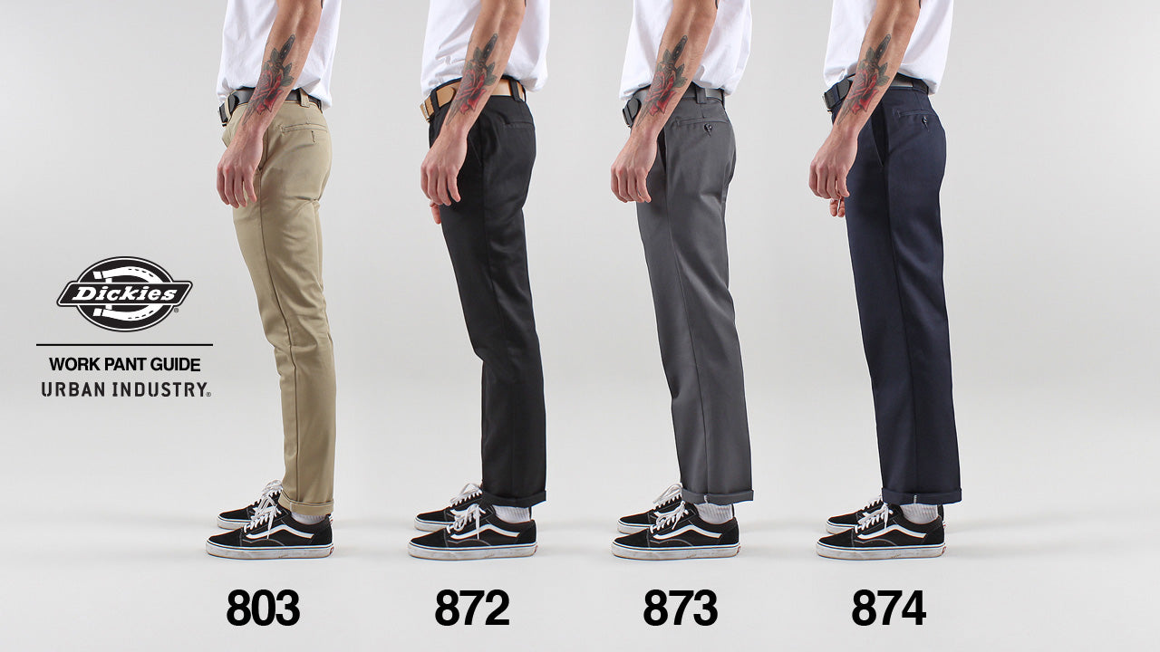 741a513373a Dickies Fit Guide | How do Dickies Work Pants Fit & How to Style Them