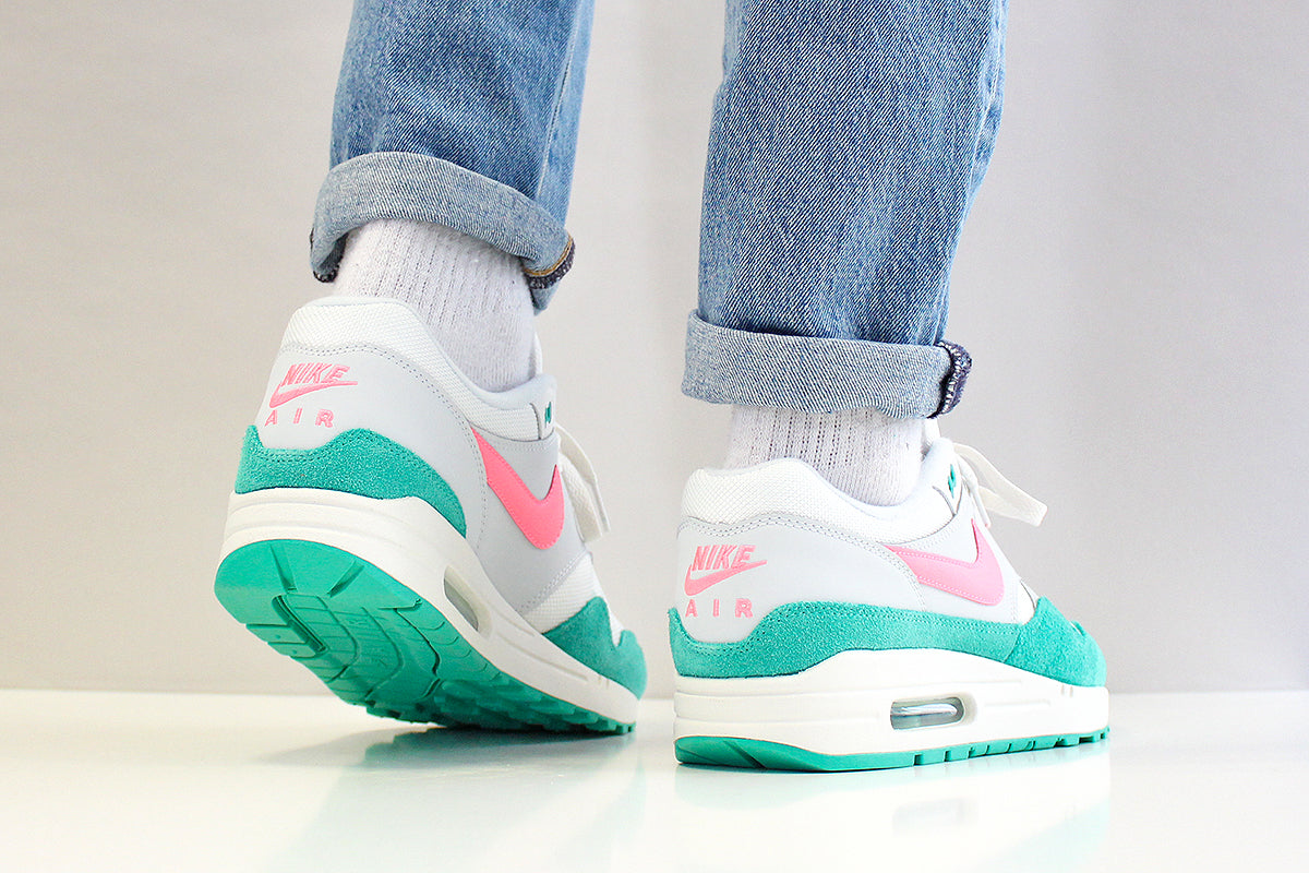 1df6441f2bcc Nike Air Max 1 Shoes  Watermelon   South Beach  Colourway