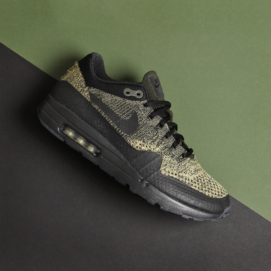 Nike Air Max 1 Ultra Flyknit Neutral Olive/Black at Urban Industry