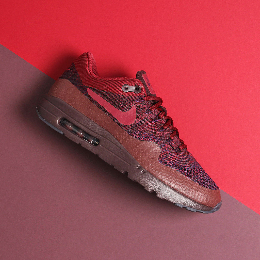 Nike Air Max 1 Ultra Flyknit Grand Purple/Team Red at Urban Industry