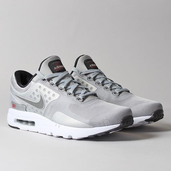 "Nike Air Max Zero QS Shoes - ""Metallic Silver"" at Urban Industry"