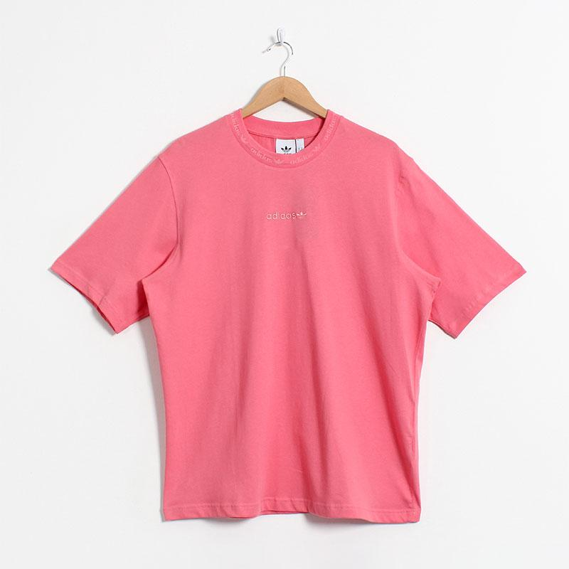 Adidas Originals Rib Detail T-shirt