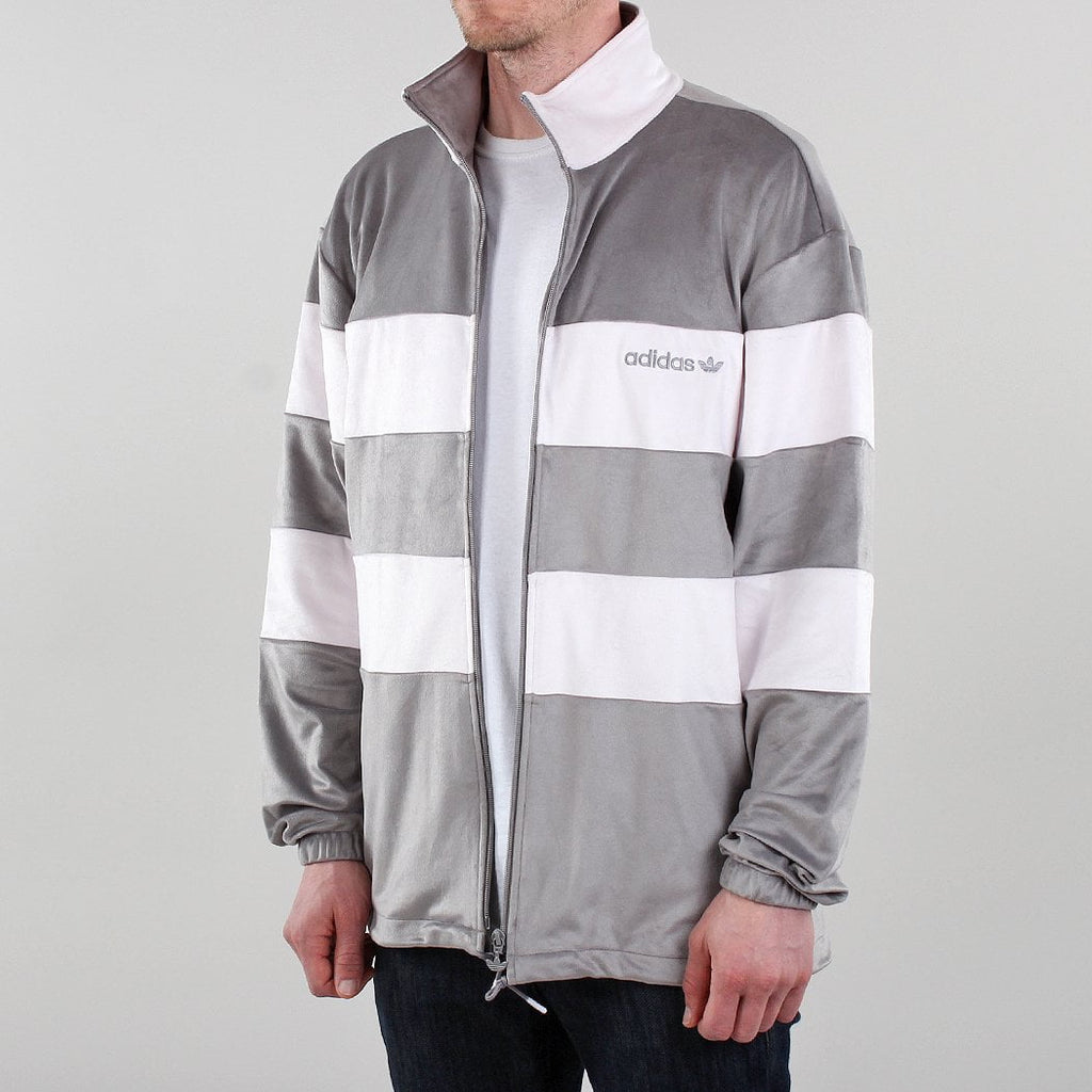 Adidas Originals Pastel Full Zip Velour Jacket