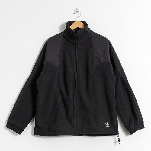 Adidas Originals Trefoil Recycled Fleece Mix Track Top