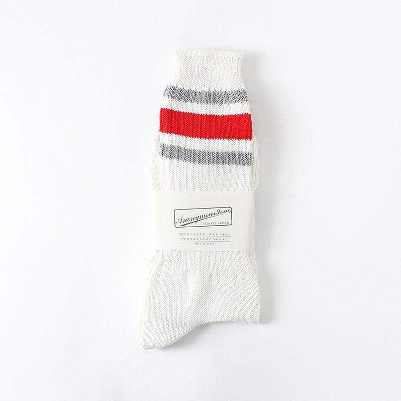 Anonymous Ism Recover 3 Stripes Crew Socks