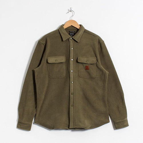 Brixton Bowery Fleece Flannel Shirt