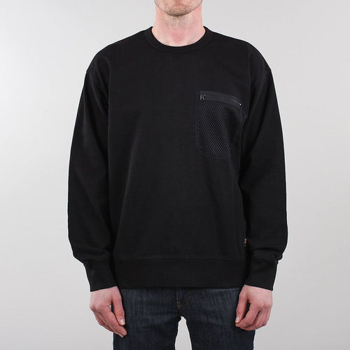 Carhartt WIP Military Mesh Pocket Crewneck Sweatshirt