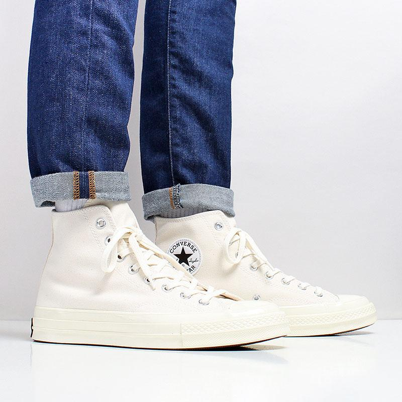 f8a3b1809c Converse Chuck Taylor All Star 70 Hi Shoes - Beige/Black/Egret ...