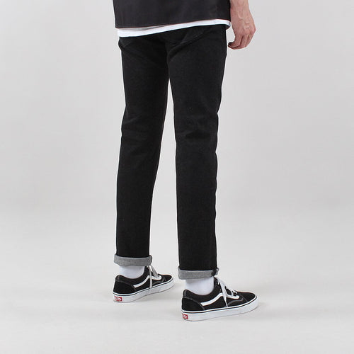 Edwin ED-55 CS Ayano Black 11.8oz Denim Jeans