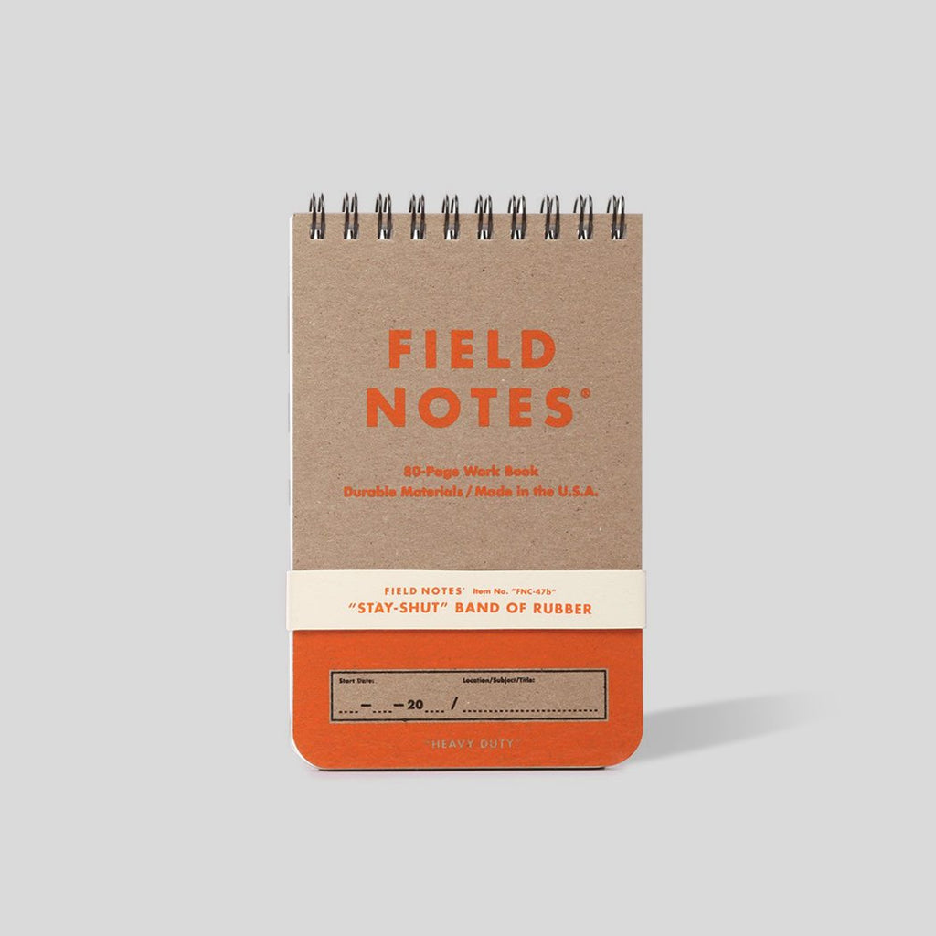 Field Notes Work Book