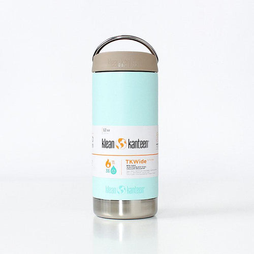 Klean Kanteen TKWide Cafe Cap 12oz Insulated Flask