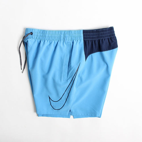 "Nike Swim Perforated Swoosh 5"" Shorts"