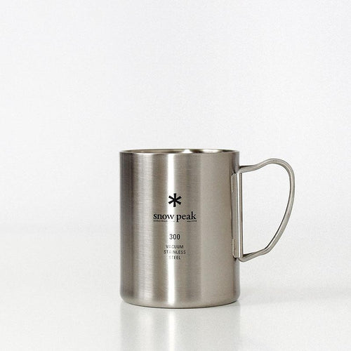 Snow Peak Stainless Vacuum Double Wall 300 Mug