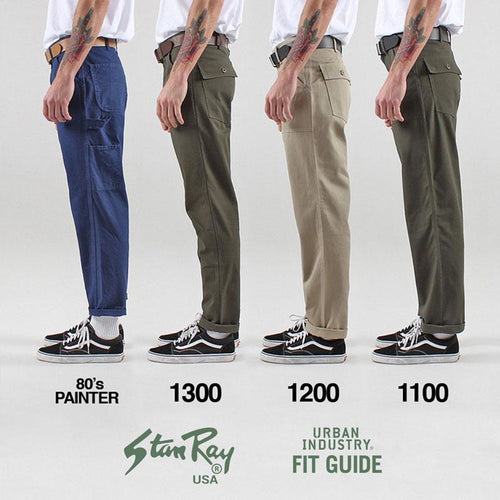 Stan Ray Slim Fit 4 Pocket Fatigue Pants - 1300 Series