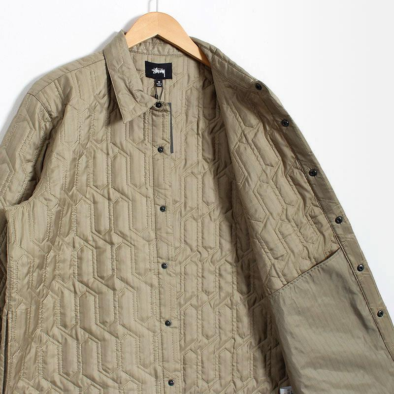 Stussy Quilted Insulated Shirt
