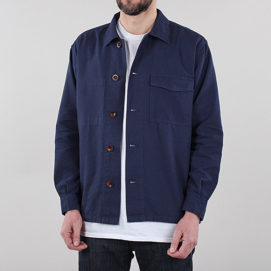 Uskees Single Pocket Button Work Shirt