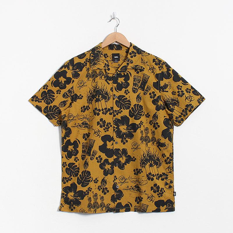 Vans Dark Aloha Woven Short Sleeve Shirt