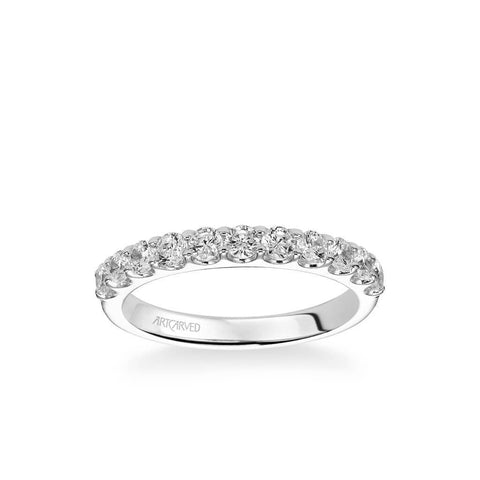 Wynona Classic Diamond Wedding Band