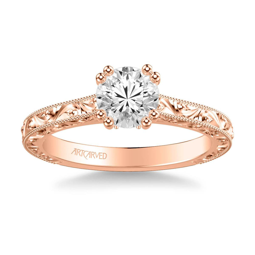 Bernadette Vintage Solitaire Engagement Ring