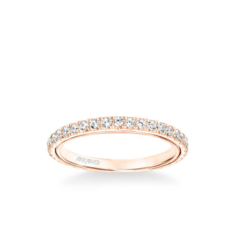 Carmen Contemporary Diamond Wedding Band
