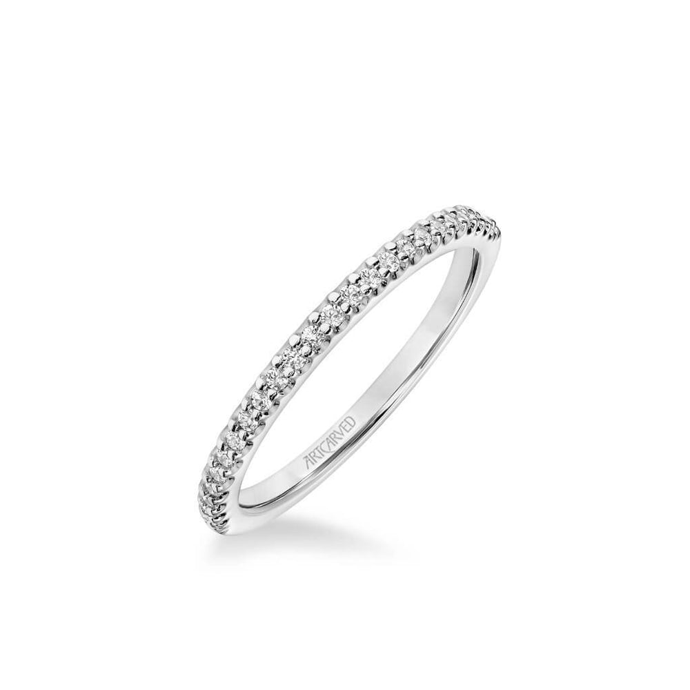 Lorelei Contemporary Diamond Wedding Band