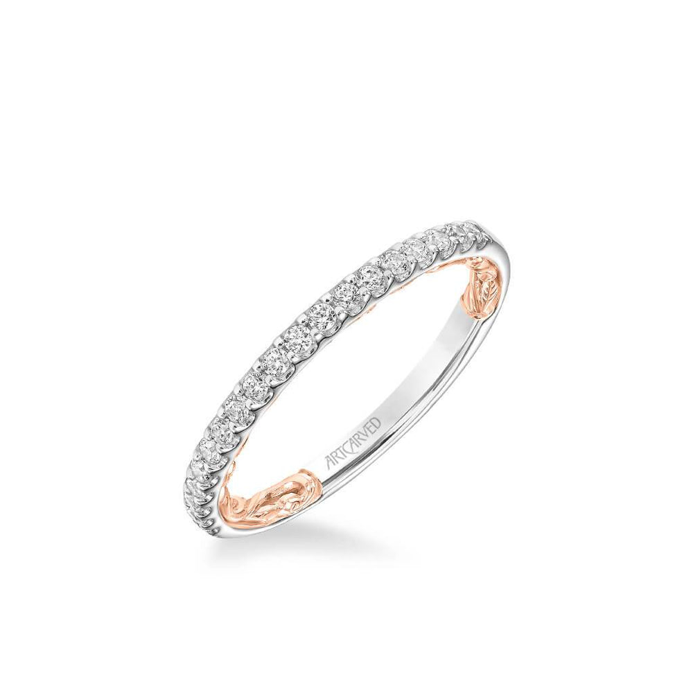 Delaney Lyric Collection Classic Diamond Wedding Band