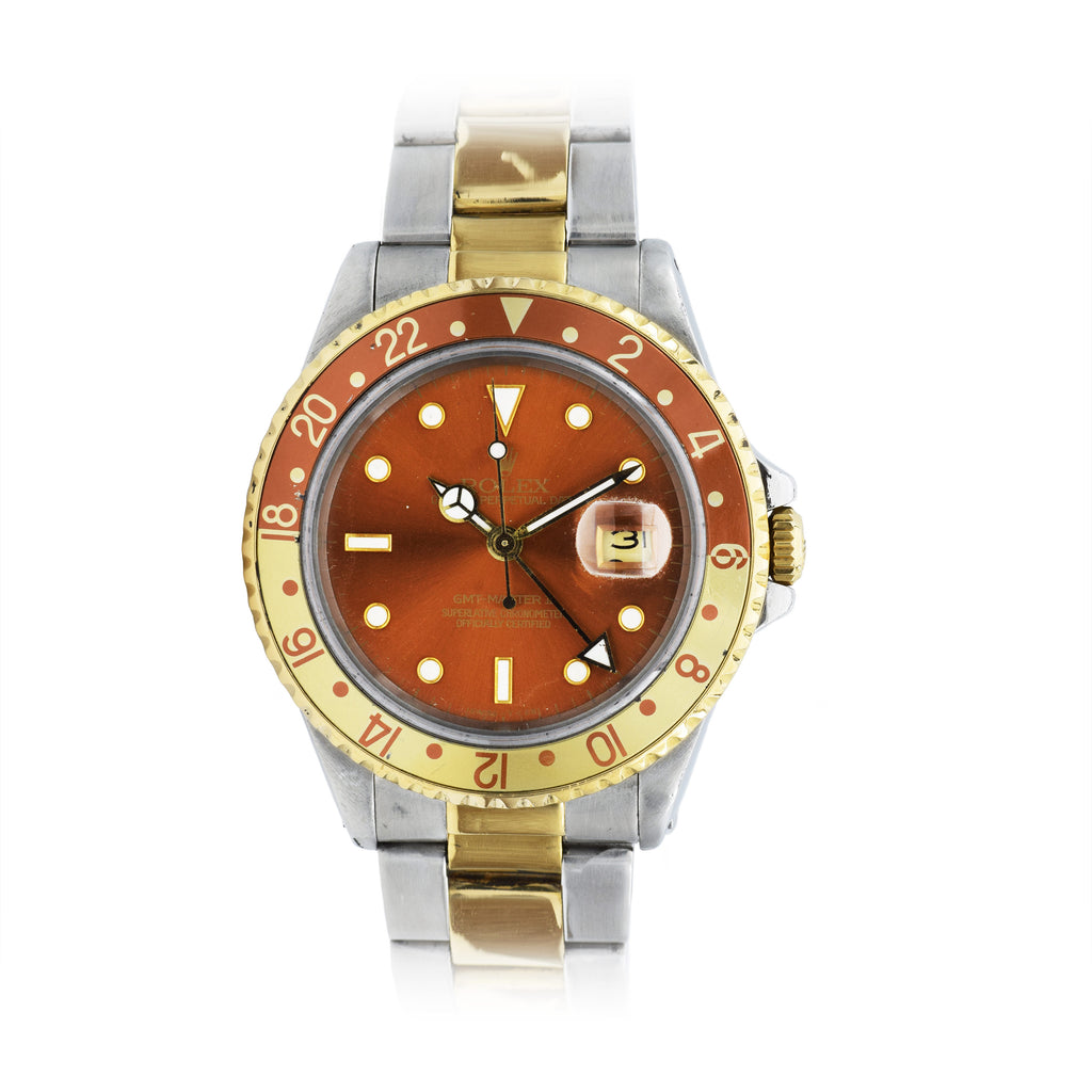 Rolex Gmt Master Ii Root Beer 16713 Louis Martin