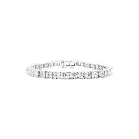 14kt White Gold 5.00 carat Diamond Tennis Bracelet