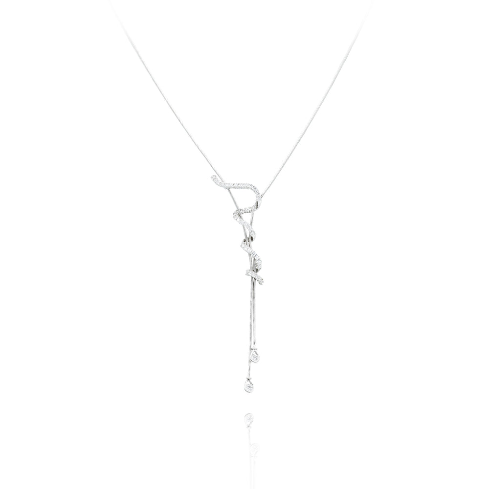 Estate Jose Hess Diamond Necklace