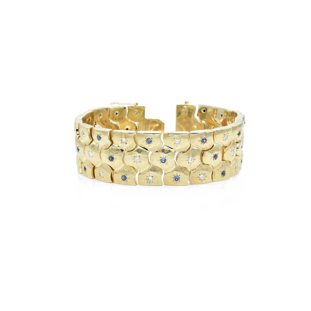 Estate 14kt Yellow Gold Bracelet