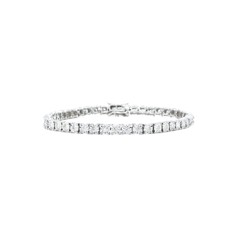 14kt White Gold 2.00 carat Diamond Tennis Bracelet