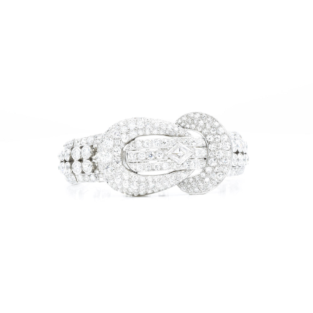Estate 1920s Diamond Bracelet