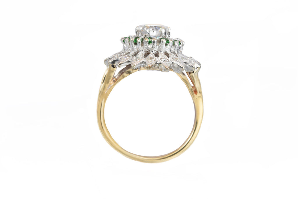 Estate Ring 14kt Gold with 1.35ct Diamond