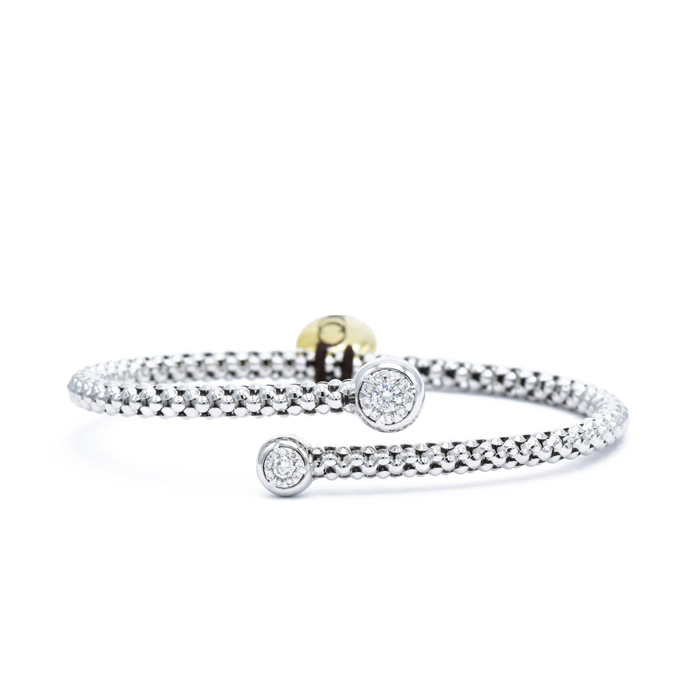 Chimento 18kt White Gold and Diamond Bracelet