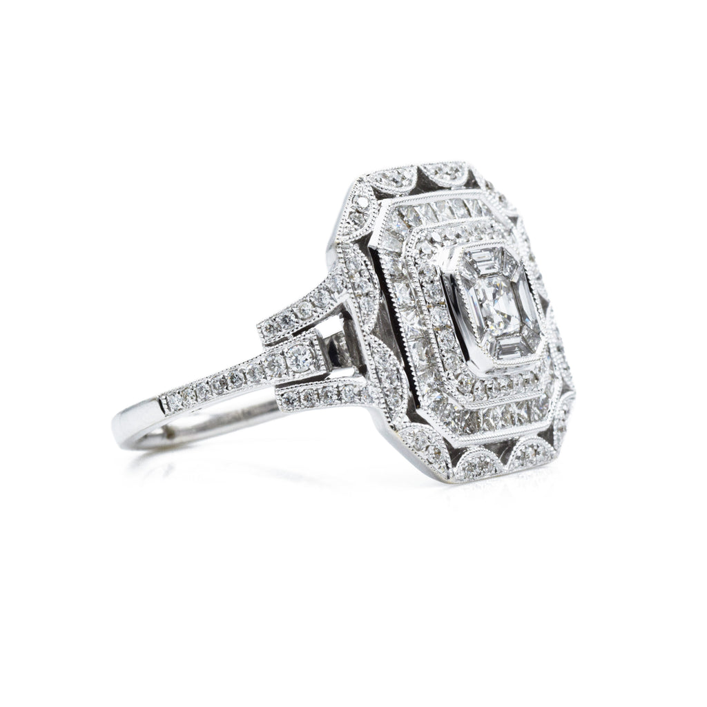 18kt White Gold and 2.0ct Certified Diamond Ring