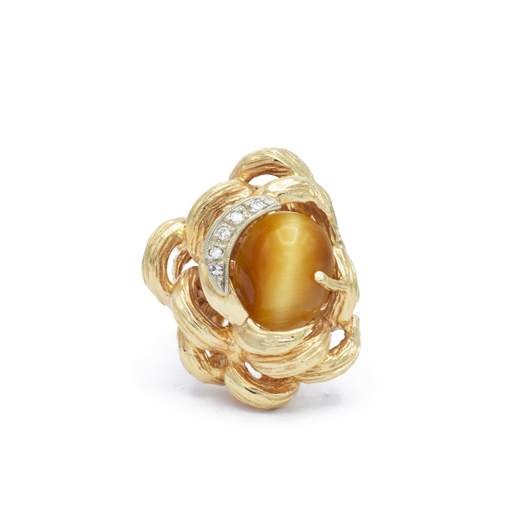 Estate Tiger Eye Ring