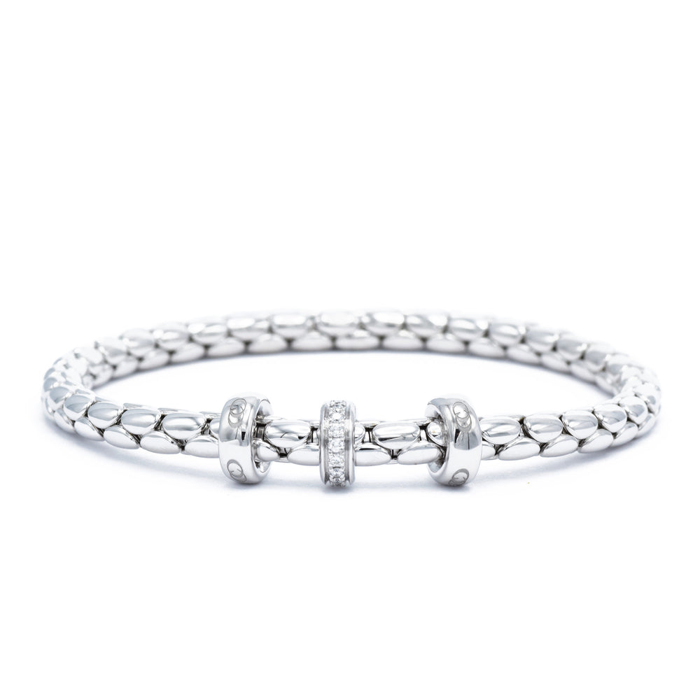 Chimento Diamond Barrel Bracelet
