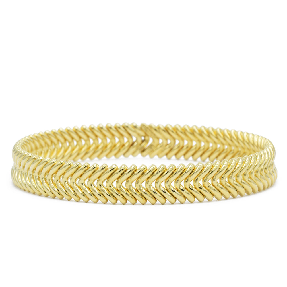 Chimento 18kt Yellow Gold 'Armilla' V Cuff