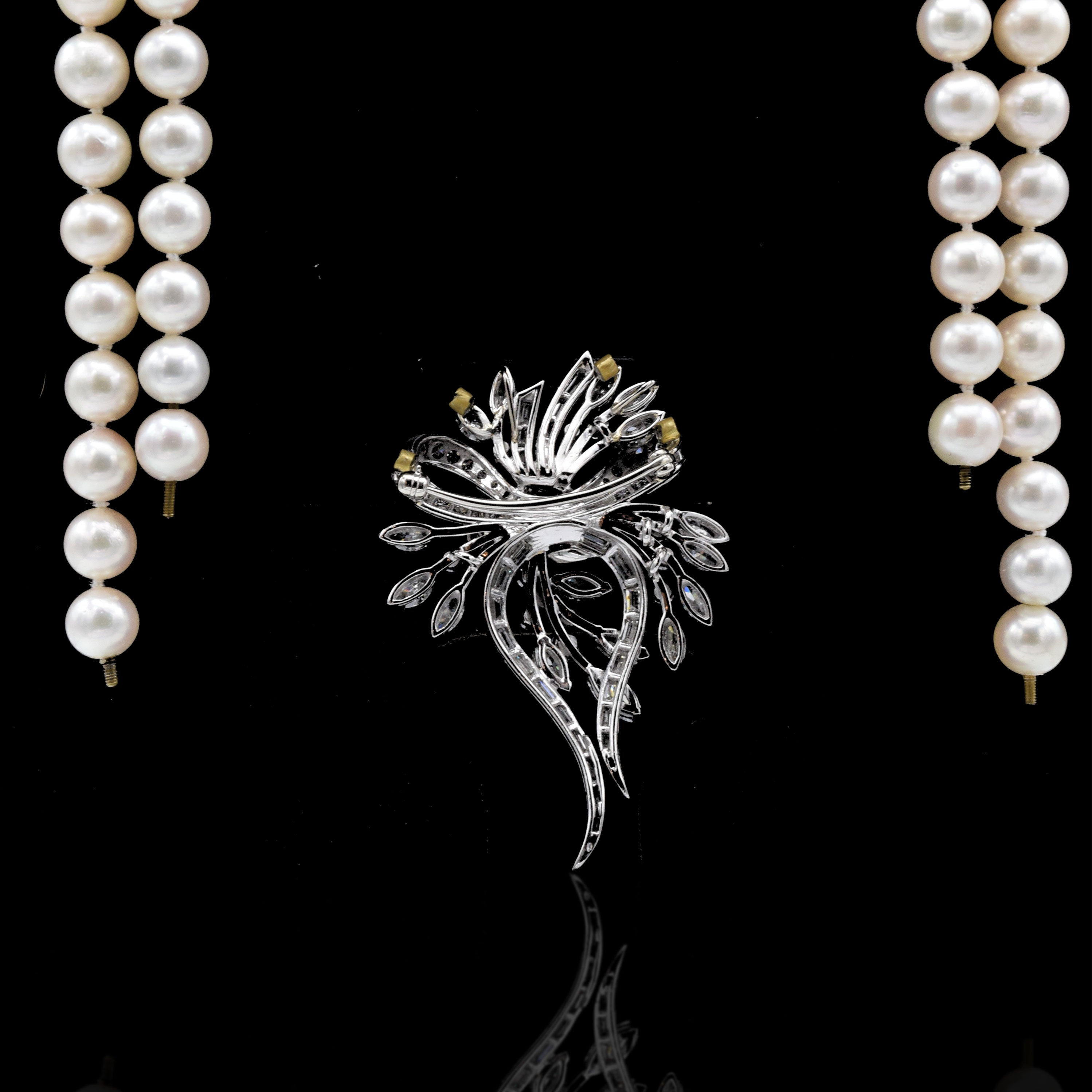 p pearl necklace akoya