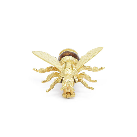 Vintage Enamel Bee Pin