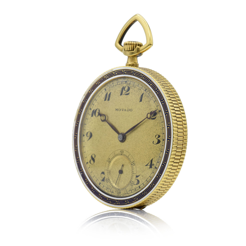 Vintage 1930s Movado Pocket Watch