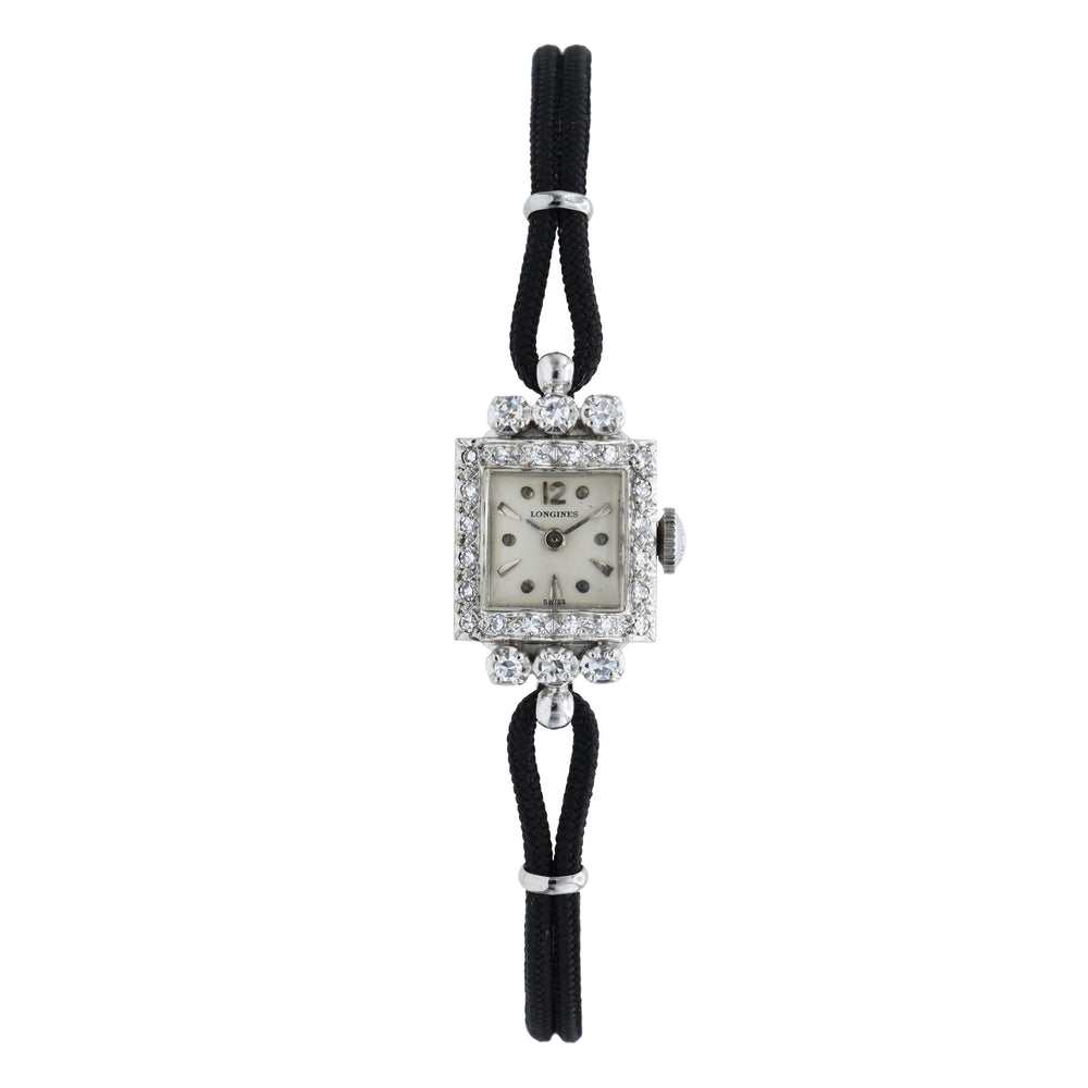 Vintage 1940s Longines Diamond Watch