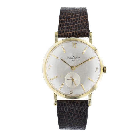 Vintage 1950s Ulysse Nardin Chronometer Watch