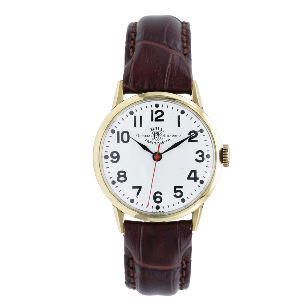 Vintage 1950s Ball Trainmaster Watch