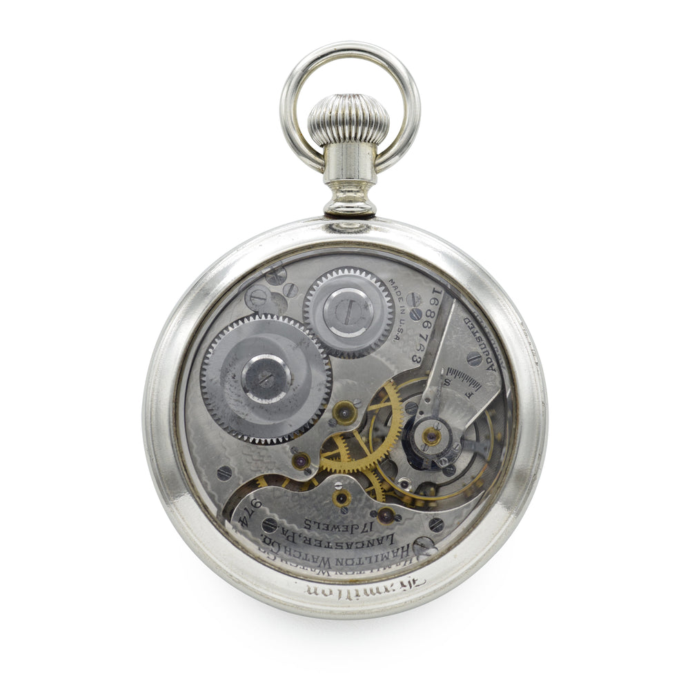 Vintage 1940s Hamilton Pocket Watch