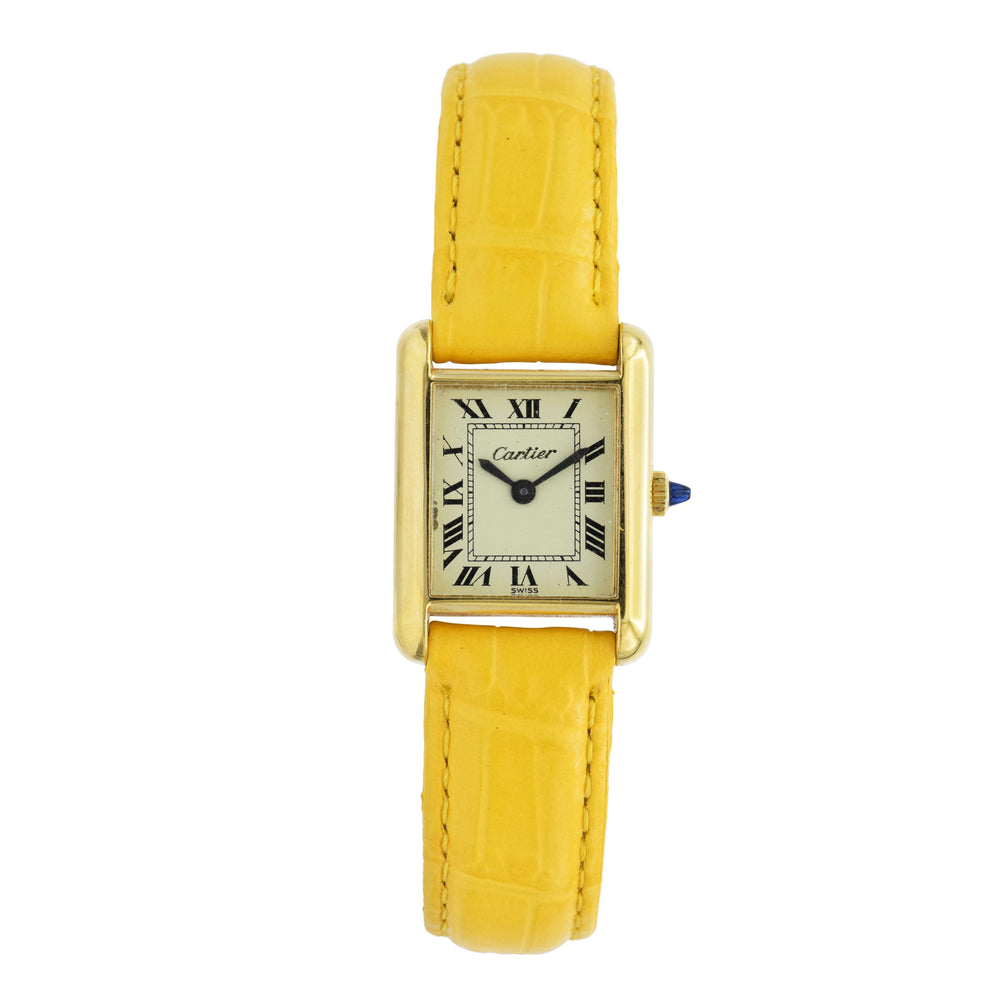 Vintage 1970s Cartier Watch